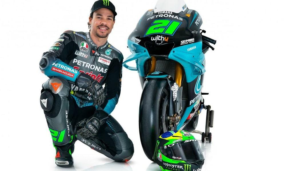 Franco Morbidelli MotoGP 2021 Petronas Yamaha SRT