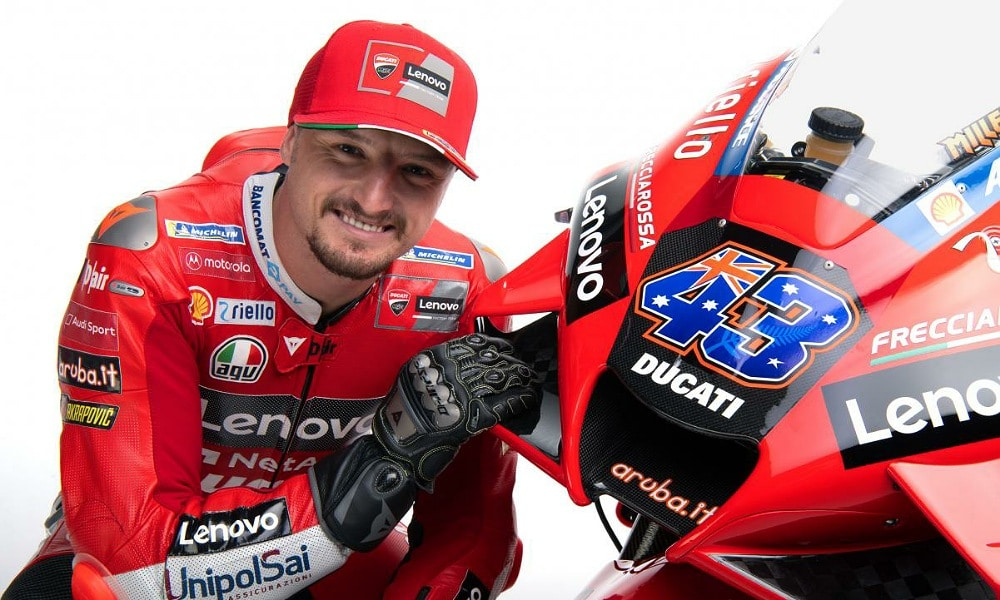 Jack Miller MotoGP 2021 Lenovo Ducati Zawodnicy MotoGP 2021