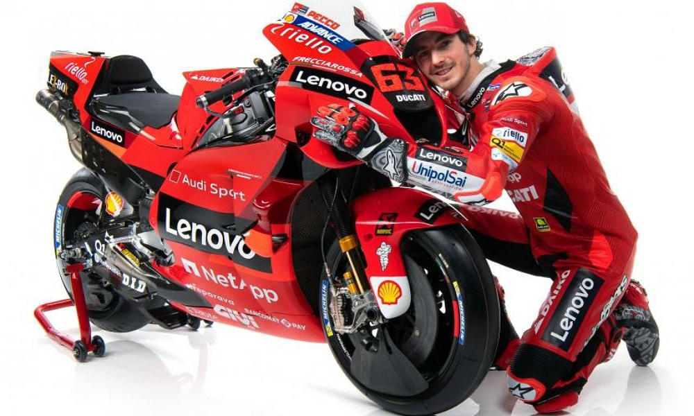 Francesco Bagnaia MotoGP 2021 Lenovo Ducati