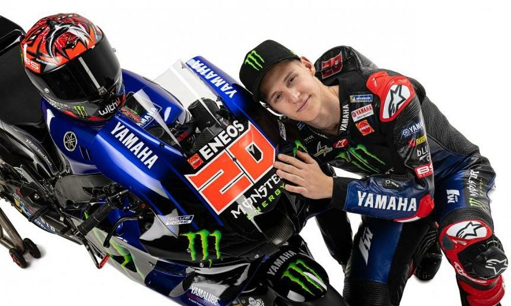 Fabio Quartararo MotoGP 2021 Monster Energy Yamaha MotoGP