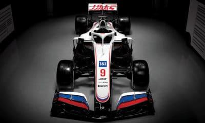 Malowanie Haas 2021 F1 główne