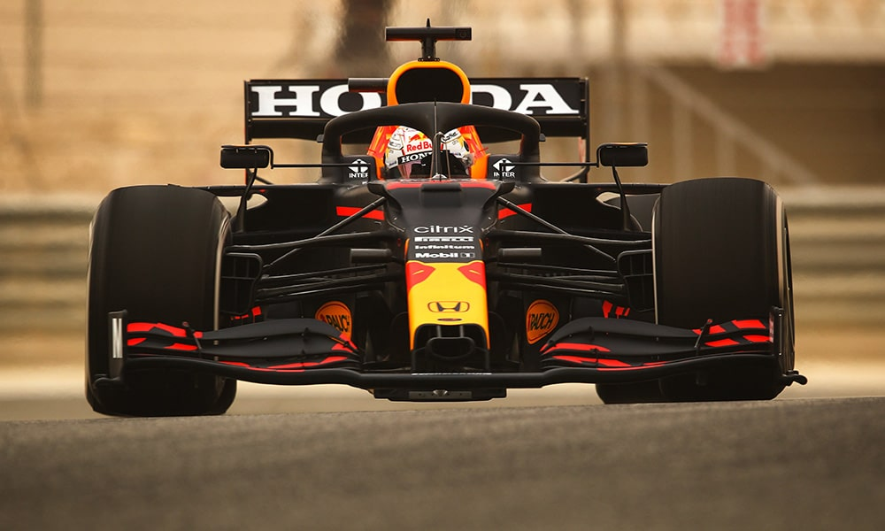 Max verstappen Red Bull Honda testy 1 2021 Klasyfikacja kierowców F1 2021