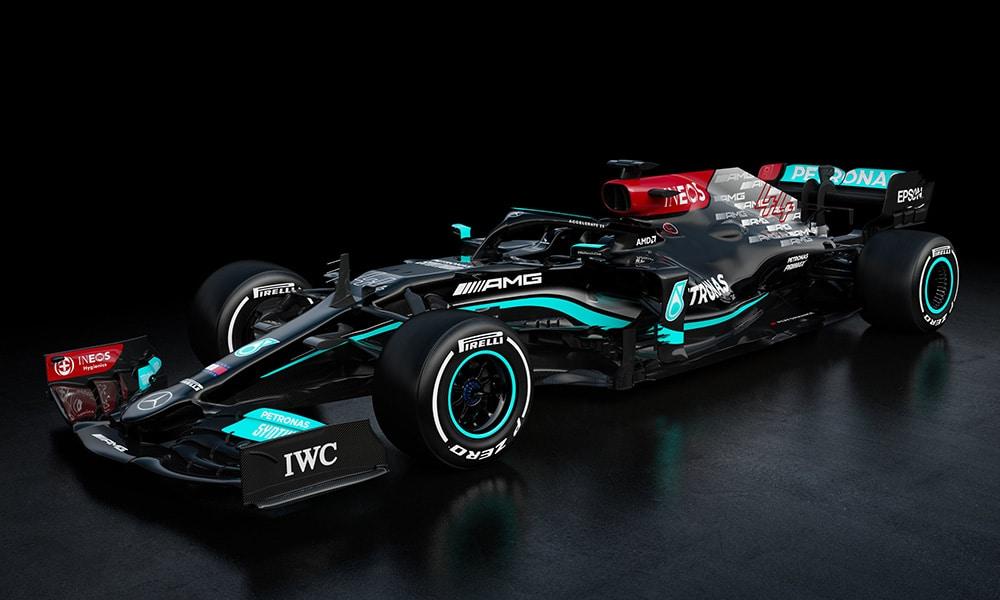 Mercedes W12 cały 2021 f1