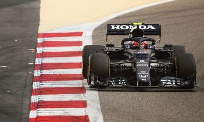 Pierre Gasly F1 Bahrajn testy AlphaTauri 2021