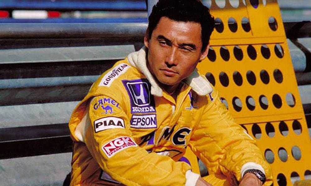 Satoru Nakajima F1