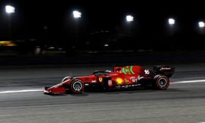 Scuderia Ferrari testy f1 2021 Bahrajn Leclerc