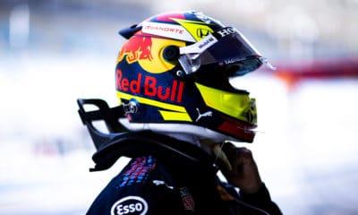Sergio Perez Red Bull 2021 Bahrajn Testy
