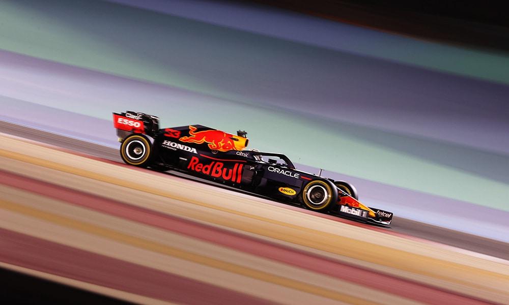 Verstappen Red Bull Honda GP bahrajnu treningi 2021