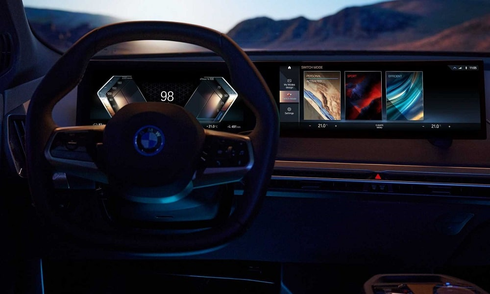 new BMW iDrive