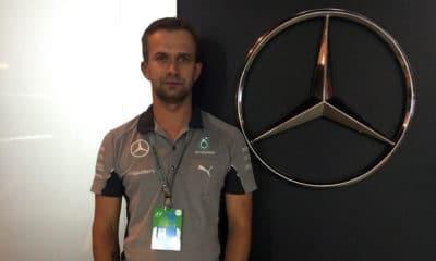 Michał Ścigałą Polak w Mercedesie 2014 2015