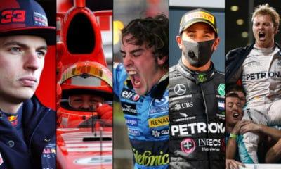 najlepsi kierowcy f1