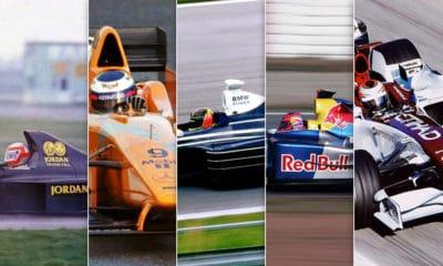 testy shakedowny najlepsze malowania bolidów F1