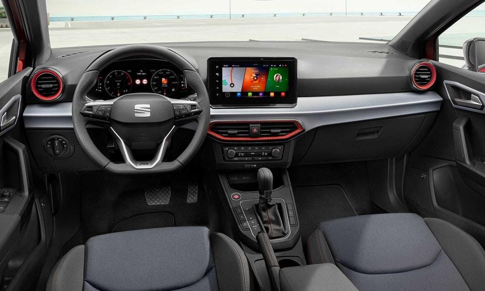 Nowy Seat Ibiza - wnętrze
