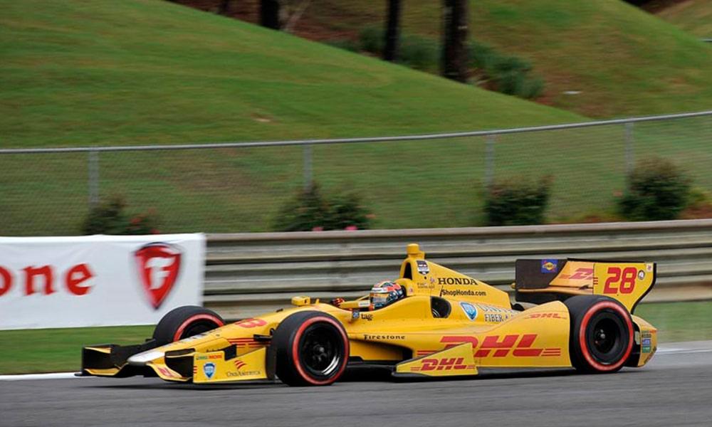 Ryan Hunter-Reay dwukrotnie wygrał GP Alabamy Barber Motorsports Park