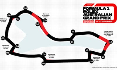 Albert Park GP Australii 2021 modyfikacja