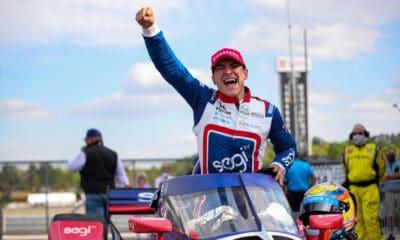 Alex Palou Chip Ganassi Racing IndyCar 2021 Grand Prix Alabamy