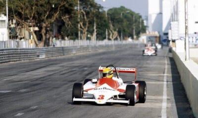 Ayrton Senna GP Makau 1983 F3