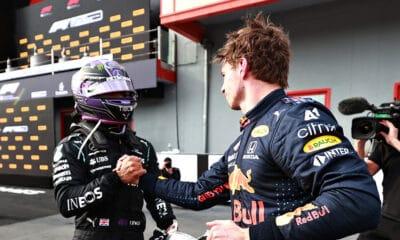 Hamilton gratulacje dla Verstappen 2021 f1