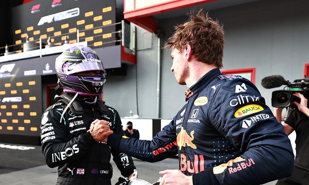 Hamilton gratulacje dla Verstappen 2021 f1 Klasyfikacja generalna kierowców F1 2021