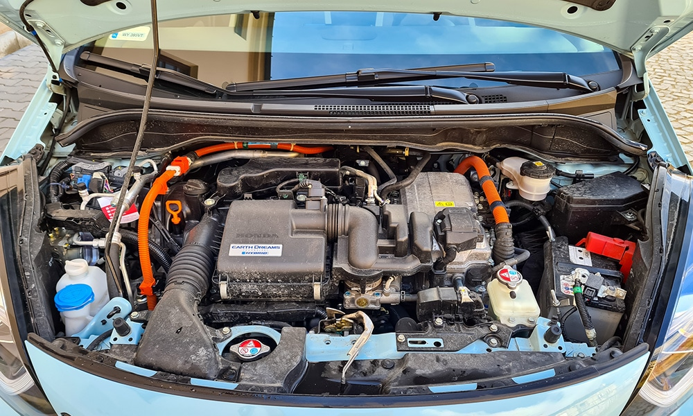 Honda Jazz Crosstar silnik hybryda
