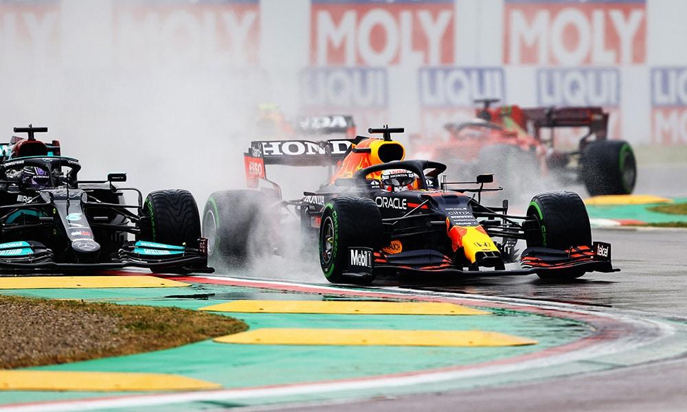 Max Verstappen Imola 2021 F1 Red Bull