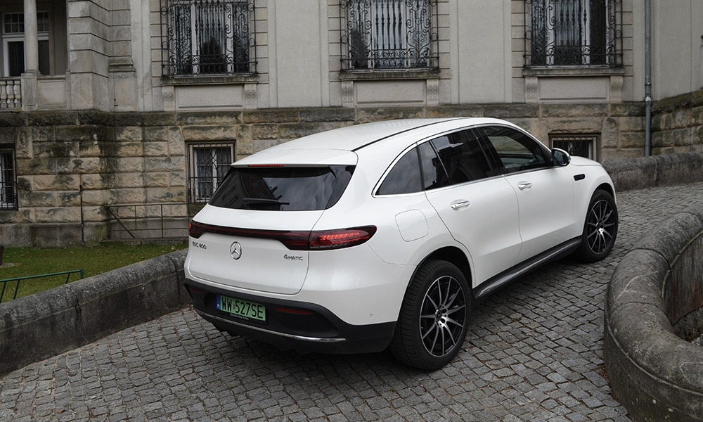 Mercedes EQC - tył