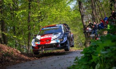 Sebastien Ogier Toyota 2021 Rajd Chorwacji WRC