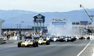 Caesars Palace Stuart Dent GP Las Vegas F1 1982