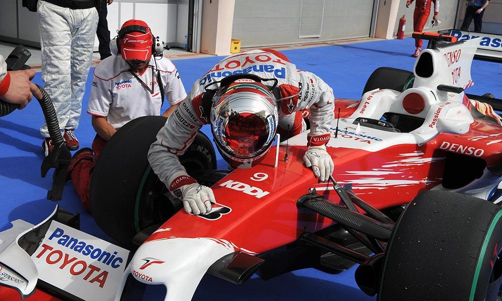 Trulli GP Bahrajnu 2009 PP