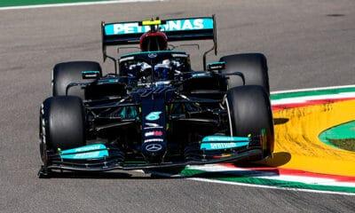 Valtteri Bottas Mercedes Imola 2021 F1 treningi piątek