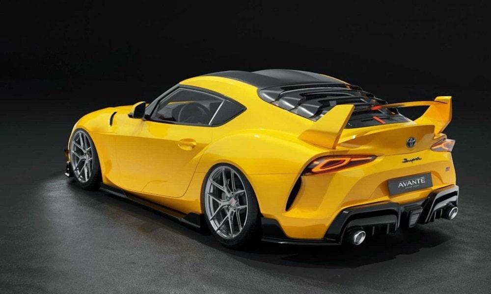 Toyota Supra Avante Design