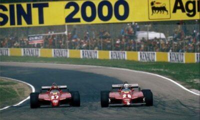 GP San Marino 1982 walka Ferrari