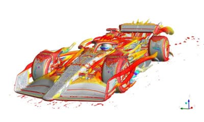 symulacja cfd motorsport