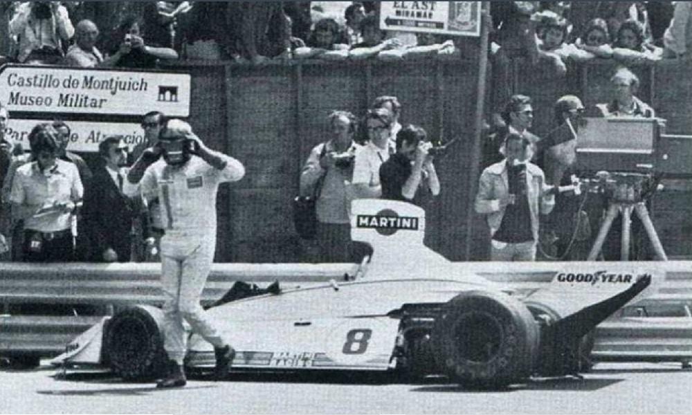 Carlos Pace 1975 Montjuich