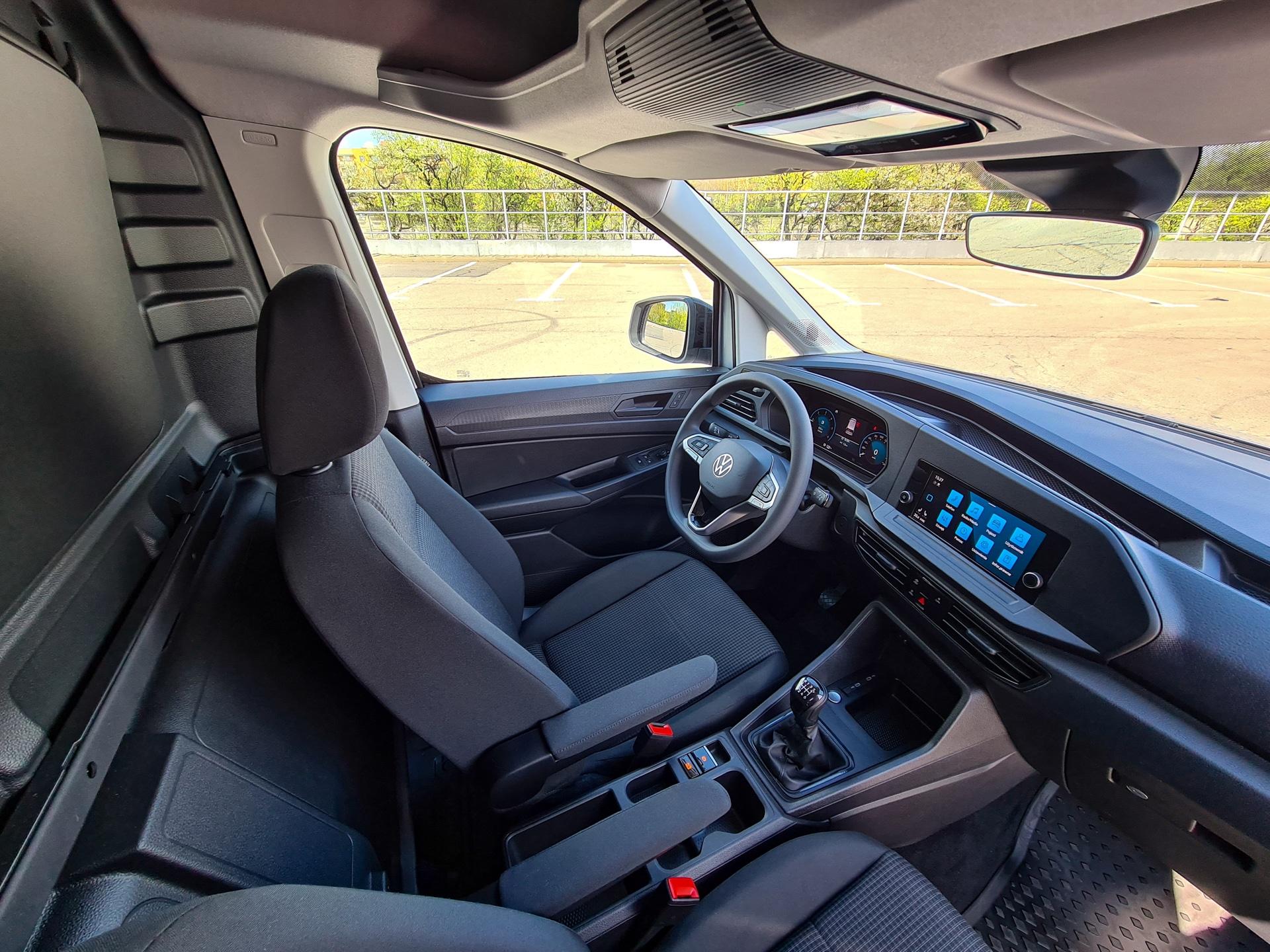 Nowy Volkswagen Caddy Cargo - kabina