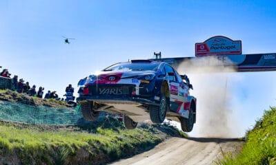 Elfyn Evans Rajd Portugalii WRC 2021 Toyota