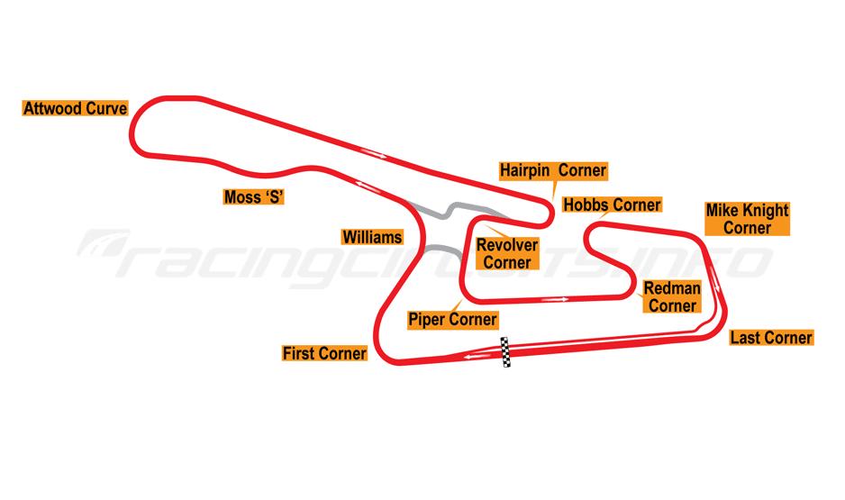 Mapa toru TI Aida