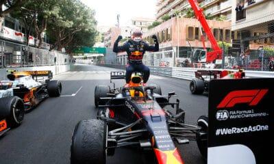Max Verstappen Red Bull Honda 2021 f1 gp monako