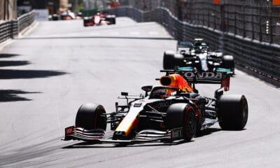 Red Bull Monako GP 2021 Mercedes walka tytuł