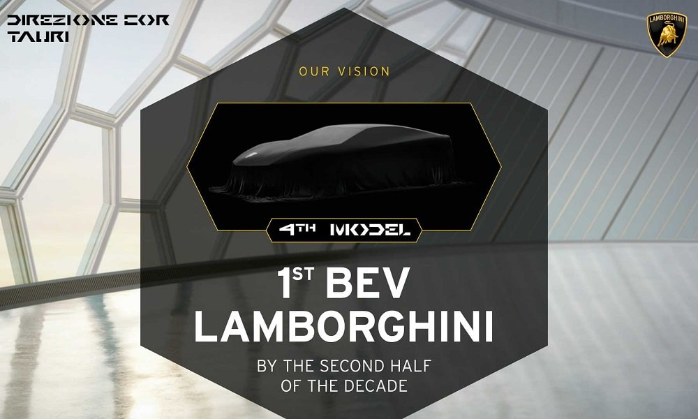 Lamborghini electrified
