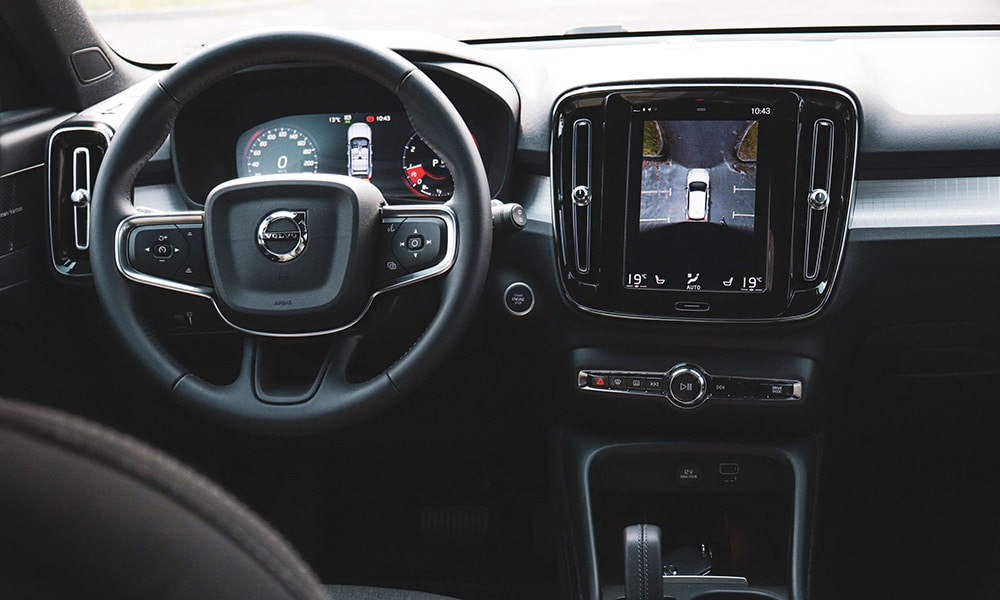wnętrze Volvo XC40 T3