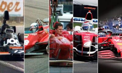 zdobywcy pole position do wyścigu, w którym nie wystartowali f1 pechowcy