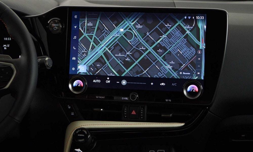 Lexus NX infotainment