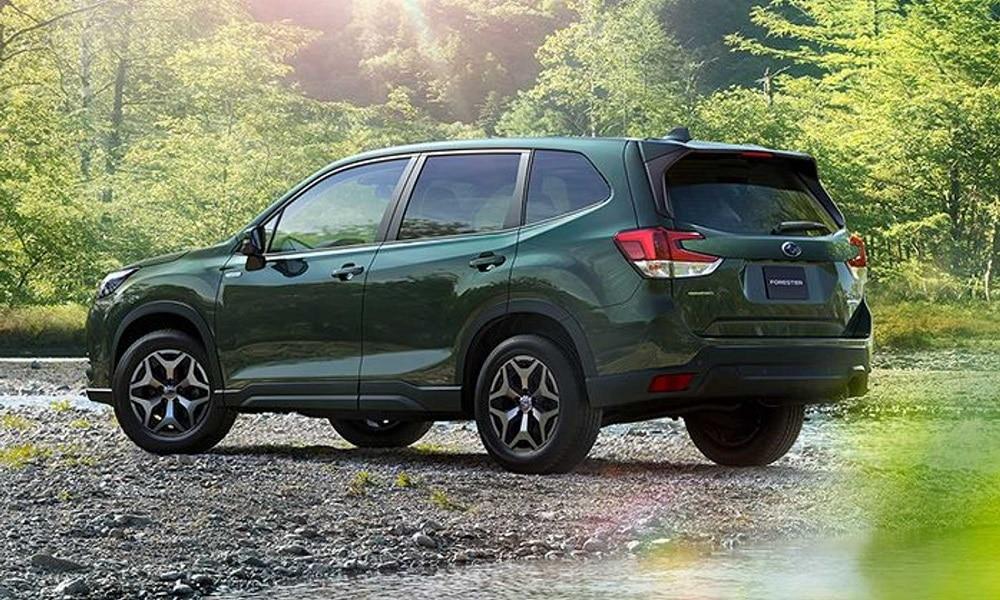 Subaru Forester po liftingu