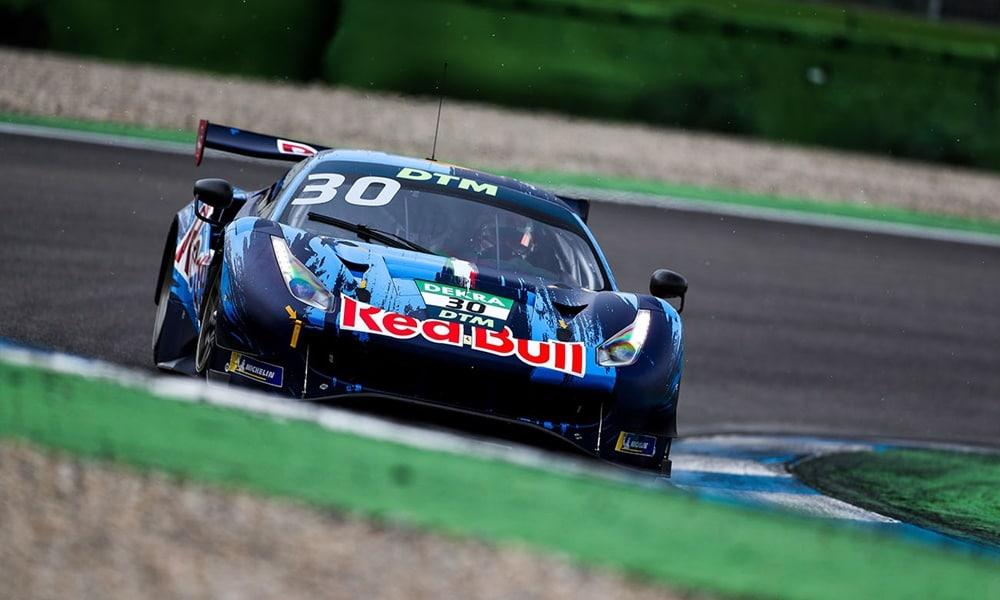 Fot. Ferrari.com/Red Bull AF Corse Ferrari Lausitzring testy 2021