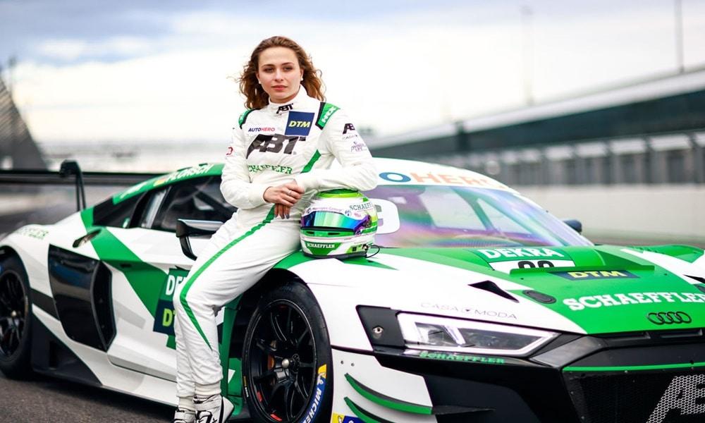 Fot. Audi Media Center/Sophia Floersch (Audi ABT Sportsline)