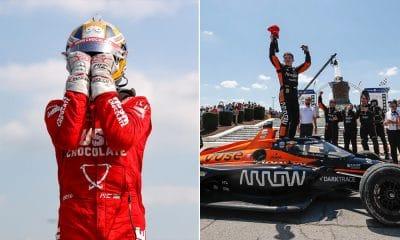 GP Detroit Ericsson i O'Ward 2021 IndyCar