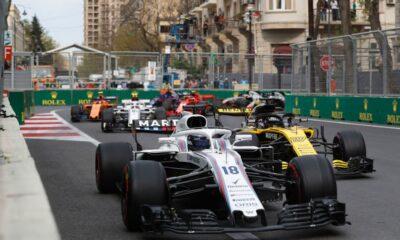 F1 grid - 2018 Azerbaijan GP Baku