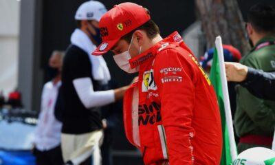 Charles Leclerc Monaco 2021 - Sunday