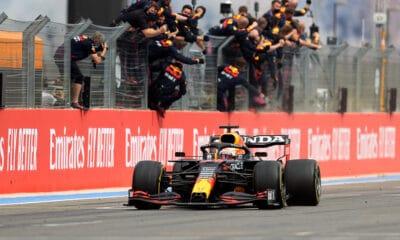 Max Verstappen Red Bull GP Francji 2021 zwycięstwo